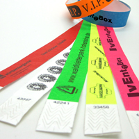 Eintrittsbänder