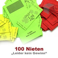 Brieflose, 100 Nieten