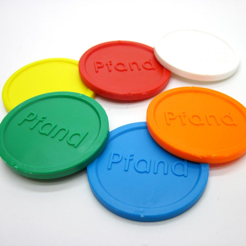 Kunststoff-Wertmarken